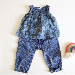 Two piece summer play suit